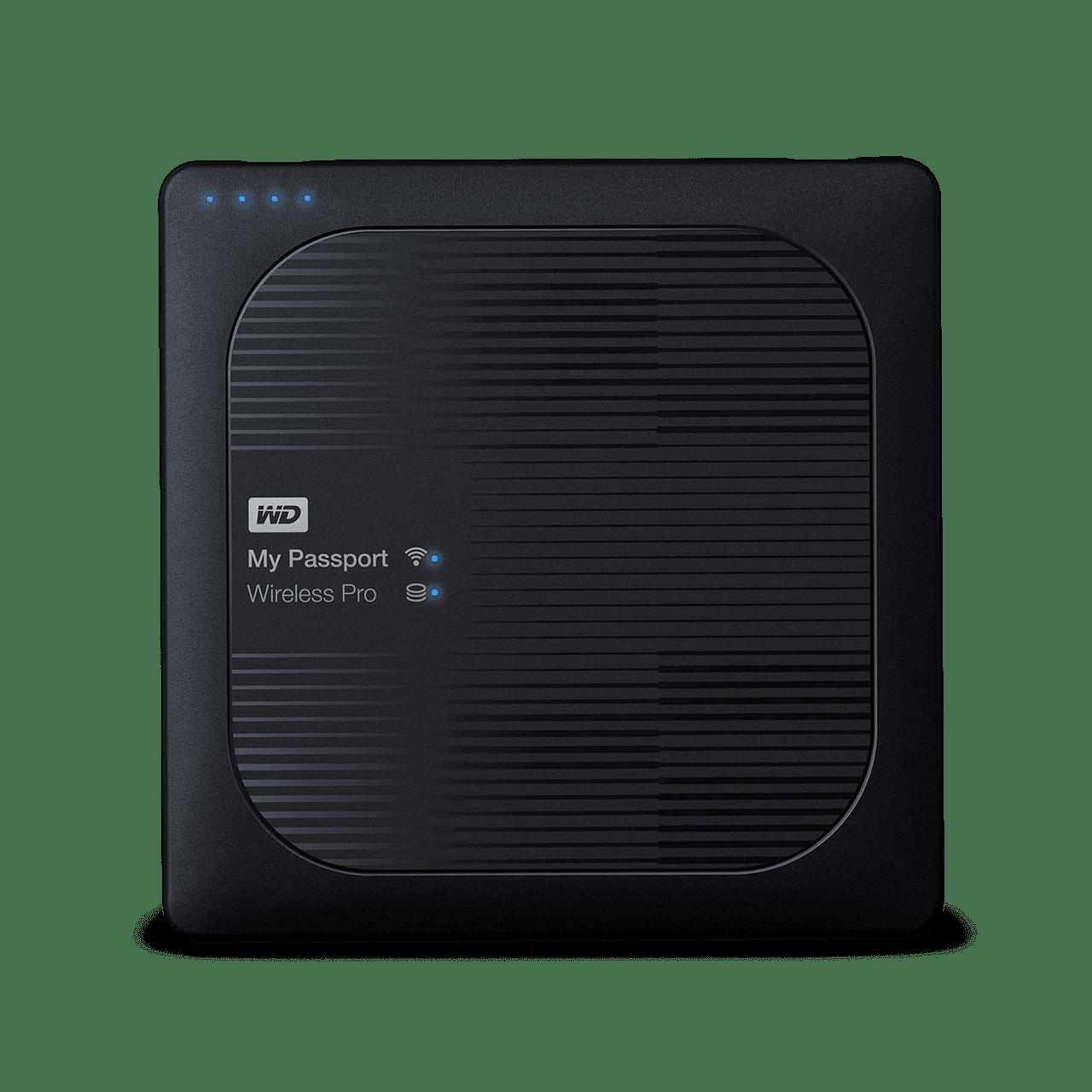 WD My Passport Pro wifi ekstern harddisk